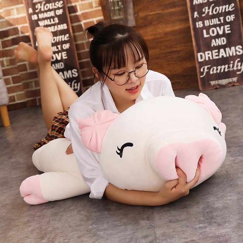 Cochon Peluche Géante