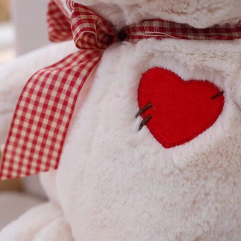 Géant Ours En Peluche Avec Un Coeur