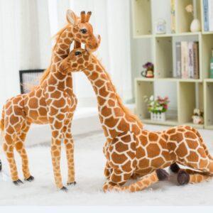Grande Peluche Girafe