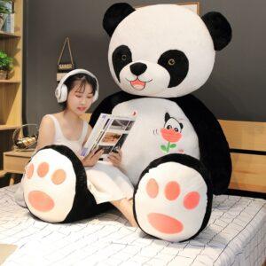 Panda Peluche Géant